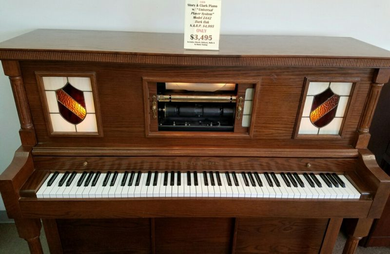 Story & Clark Model 2442 Upright Player Piano