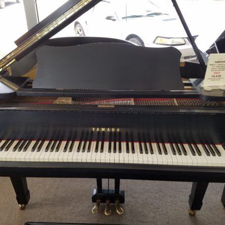 1978 Yamaha Model C3 Conservatory 6'1″ Satin Ebony