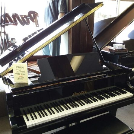 2007 Pearl River GP142 4'7 Grand Piano Polished Ebony