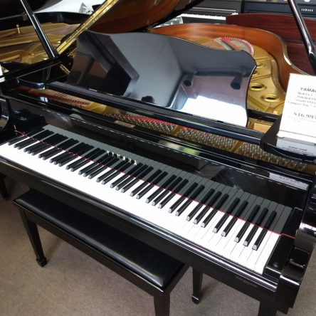 Yamaha C3 6'1 Polished Ebony