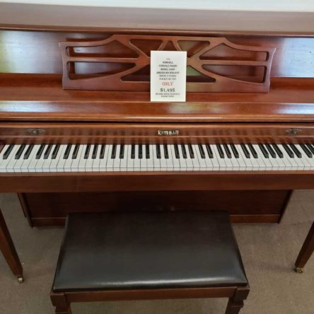 1986 Kimball Model 406P Console Piano